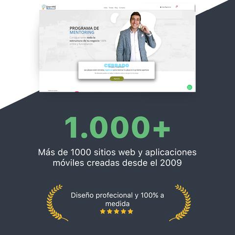 DISEÑO,  SEO Y  MANTENIMIENTO SITIOS WEB.  - foto 1
