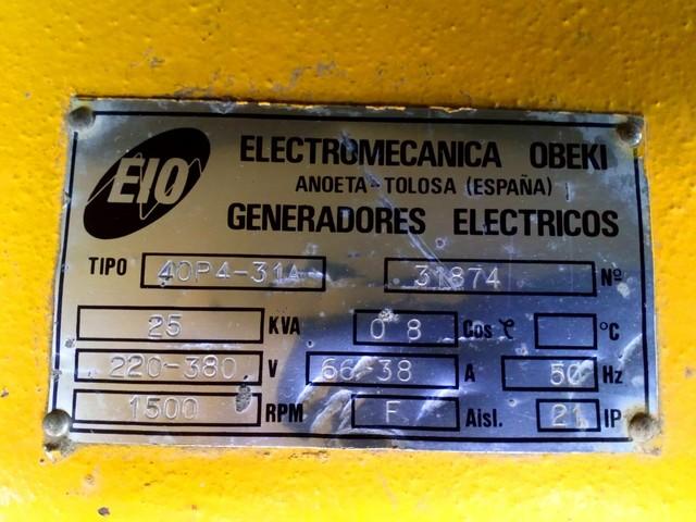 GENERADOR ELÉCTRICO DIESEL - foto 5