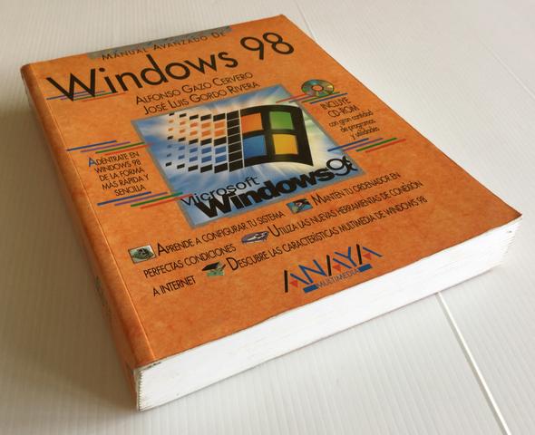 MANUAL AVANZADO DE WINDOWS 98 ANAYA - foto 2