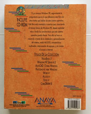 MANUAL AVANZADO DE WINDOWS 98 ANAYA - foto 3
