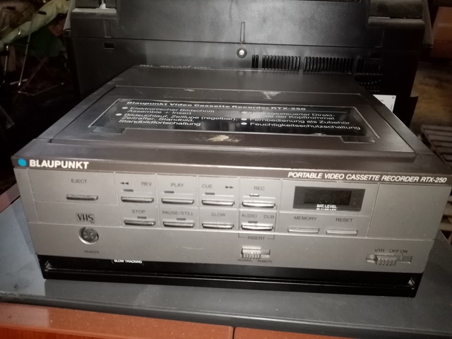 Blaupunkt Portable Video Cassette