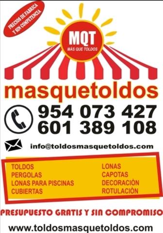 MASQUETOLDOS.  FABRICA DE TOLDOS - foto 1