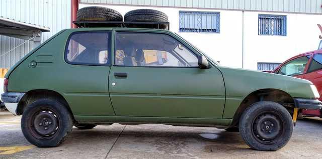PEUGEOT - 205 RAID OFF ROAD - foto 9