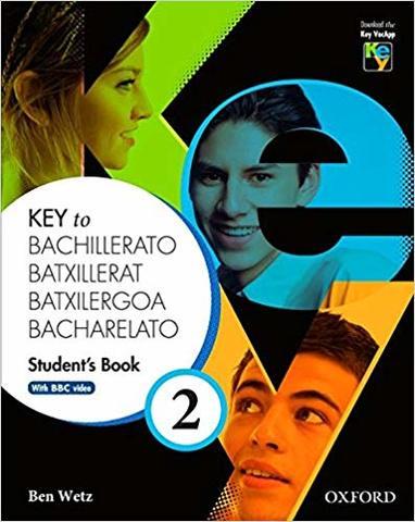 KEY TO BACHILLERATO-2-STUDENT´S BOOK-I - foto 1
