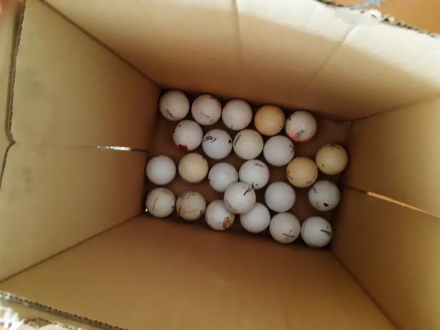 Vendo 70 Bolas Golf Usadas
