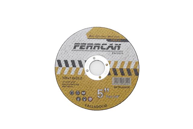 Discos De Corte Para Metal De 125X1Mm