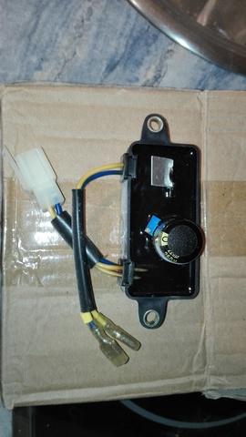 VARIADOR ELECTRONICO DE VOLTAGJE(AVR) - foto 1