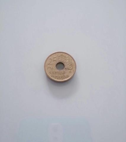 1 Moneda De 25 Pesetas