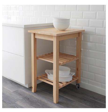MUEBLE AUXILIAR COCINA IKEA