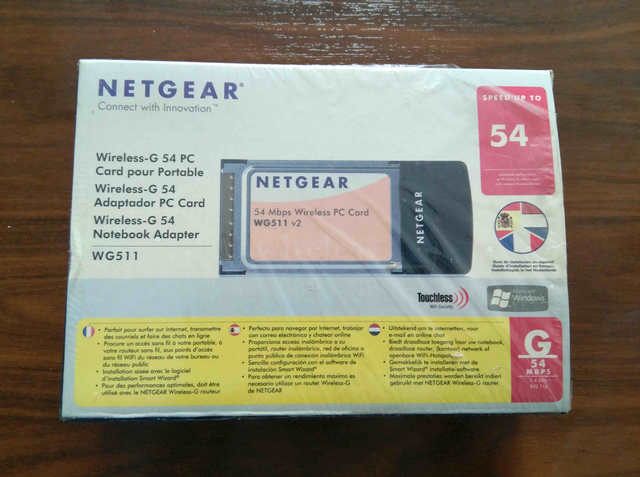 NETGEAR PC-CARD WIRELESS WG511 54G - foto 1