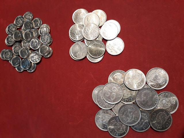 Antiguas Monedas De Pesetas