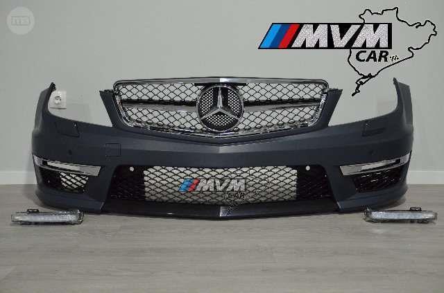 Parrilla delantera tuning de cromo para Mercedes W211 clase e 05-08