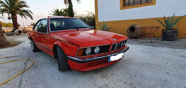 Bmw 6er serie coupé e24 635 CSI 635csi red rojo 1982 155028100 Minichamps 1:18