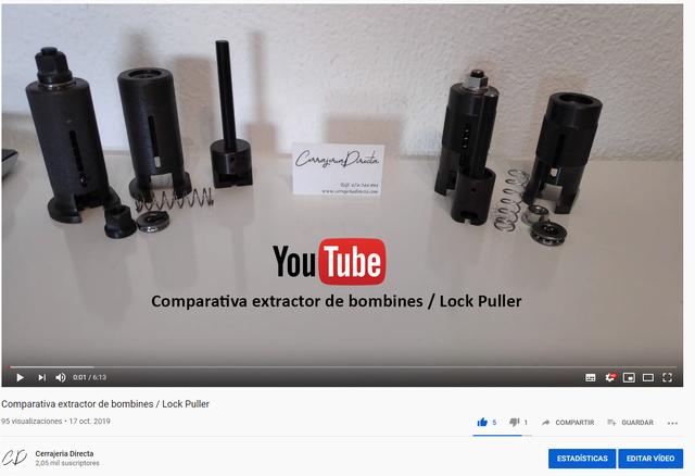 EXTRACTOR DE BOMBINES A 50 EUROS ! - foto 2