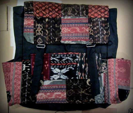 amplia selección de colores diseñador de moda en venta en línea MOCHILA HIPPIE DE TELA ESTAMPADA, MUJER