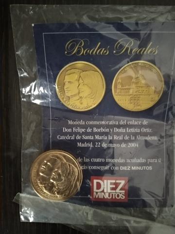 Colección Monedas Bodas Reales