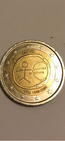 Moneda De 2 Euros Conmemorativa.