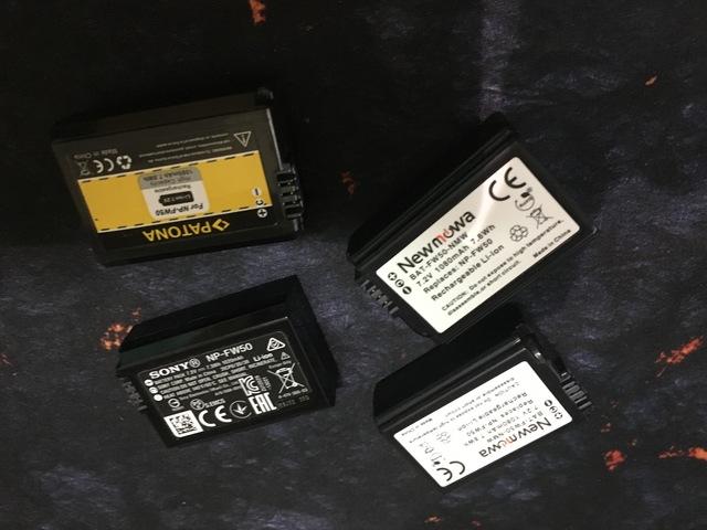 Caja de almacenamiento de la batería Newmowa 6 un Para Sony NP-FW50 F//s con seguimiento # nuevo de Japón