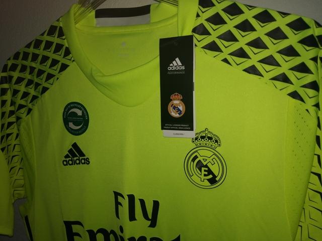 Detalles de Camiseta Oficial REAL BETIS MARCA ADIDAS TALLA L DE PORTERO ADAN NUEVA SHIRT