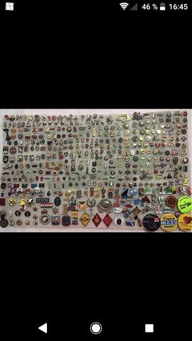Compro Colecciones De Pins Insignias