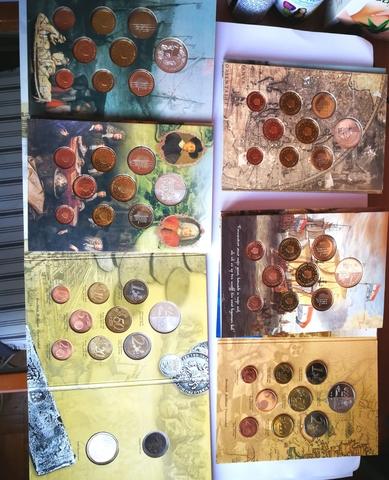 Caja Completa Con Las Series De Euros De