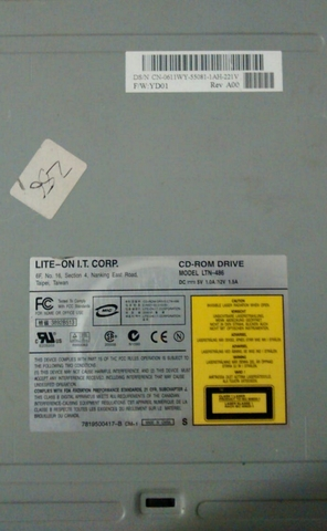 CD ROM LITE-ON 48MP PARA PC - foto 1