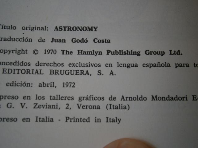 LA ASTRONOMIA - M.  Y VIDA MICROSCOPICA - foto 4