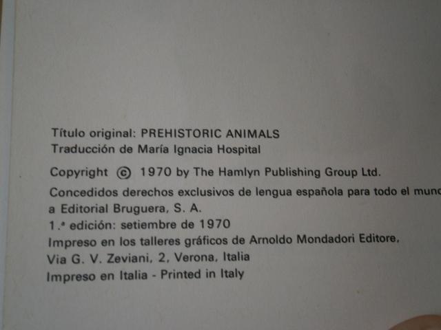 ANIMALES PREHISTORICOS - LA ARQUEOLOGIA - foto 4