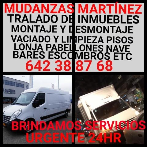 PORTE Y  MUDANZAS MARTÍNEZ  642 38 87 68 - foto 2