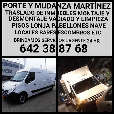 PORTE Y  MUDANZAS MARTÍNEZ  642 38 87 68 - foto 3