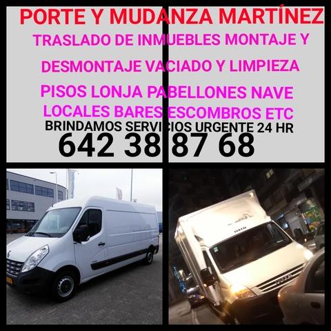 PORTE Y  MUDANZAS MARTÍNEZ  642 38 87 68 - foto 4