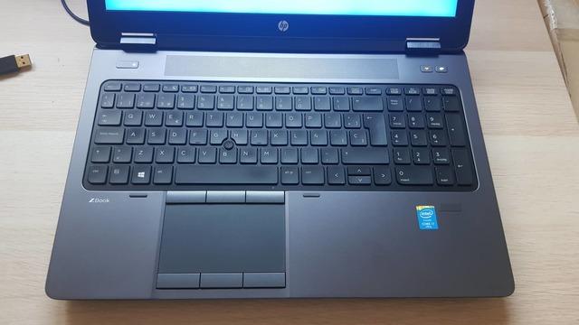 HP ZBOOK I7 32GB RAM-SSD 256GB-NVIDIA2GB - foto 7