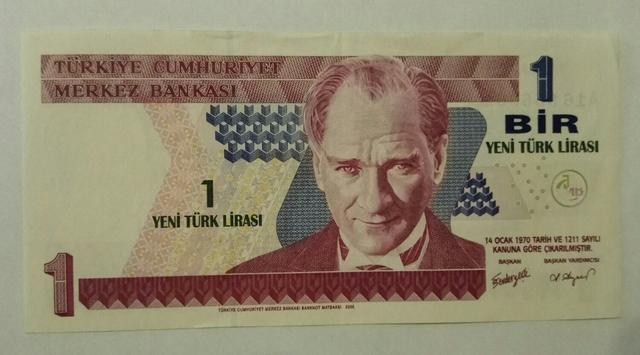 Billete Turquía
