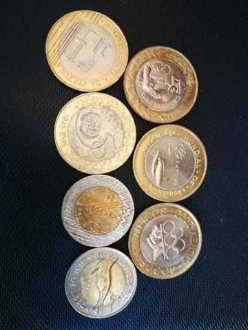 Monedas Conmemorativas Bimetálicas De Es