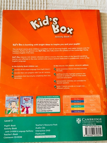 KID'S BOX 3.  ACTIVITY BOOK - foto 2