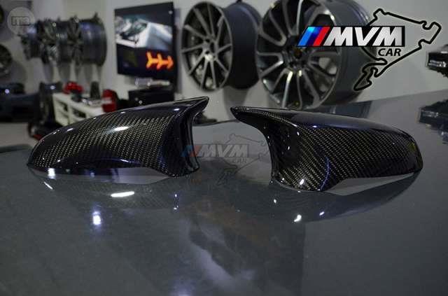 BMW M4 serie 4 Cubierta de Fibra de Carbono Fibra De Combustible Aleta-F82 F83 F32 F33-UK Stock