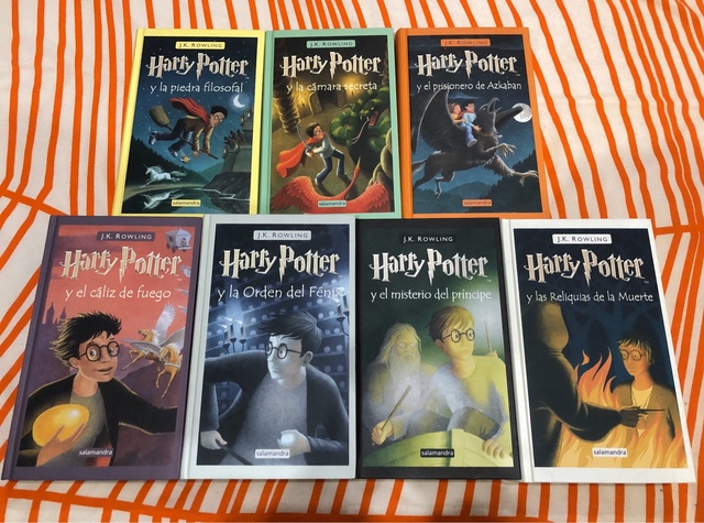MIL ANUNCIOS.COM - Libros completos Harry Potter de Rowling