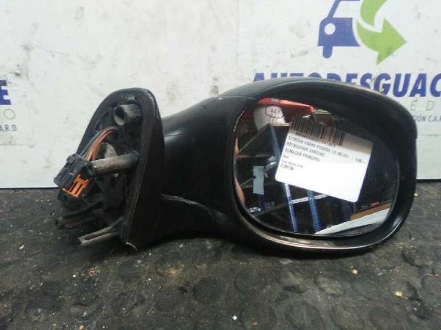 Espejo exterior derecha manualmente negro se adapta a Skoda Fabia a partir del año 99-08
