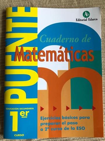 LIBRO MATEMÁTICAS REPASO 1 ESO , SOLUCION - foto 1