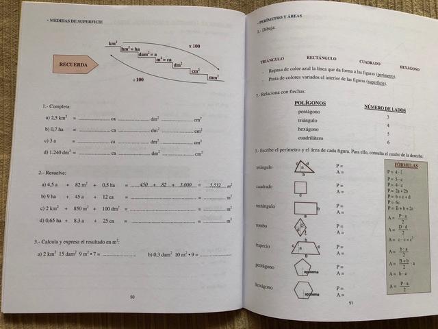 LIBRO MATEMÁTICAS REPASO 1 ESO , SOLUCION - foto 3