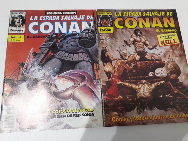 10 COMICS CONAN AÑOS 80 - foto 2