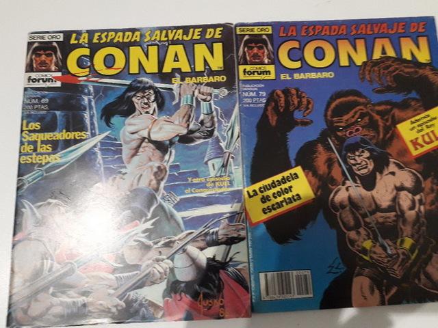 10 COMICS CONAN AÑOS 80 - foto 3