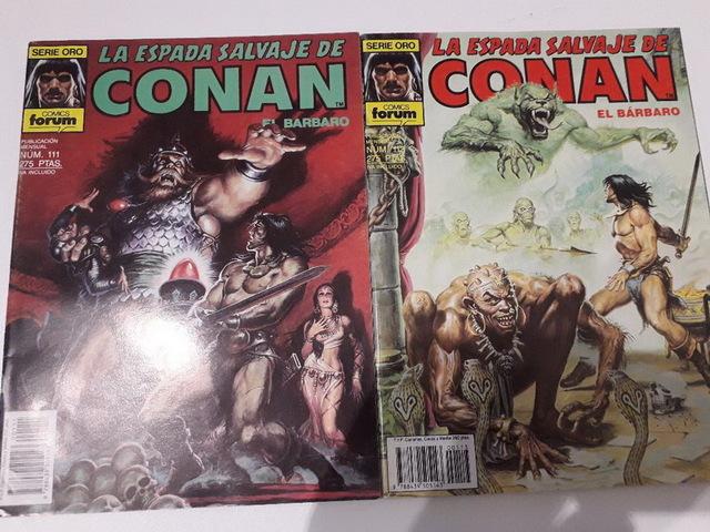 10 COMICS CONAN AÑOS 80 - foto 4