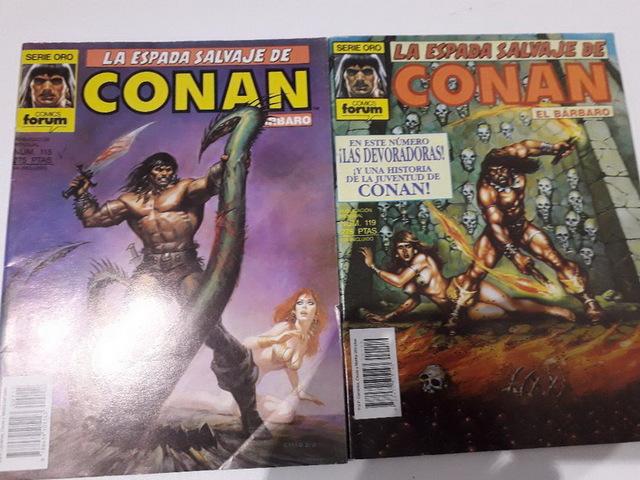 10 COMICS CONAN AÑOS 80 - foto 5