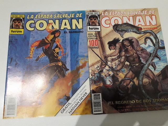 10 COMICS CONAN AÑOS 80 - foto 6