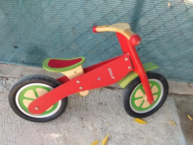 Bicicleta Goula Madera