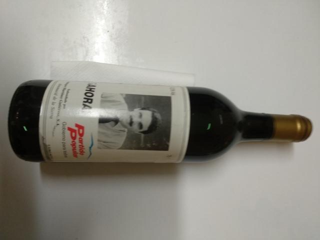 Botella Vino Pp