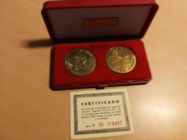 Medallas Mundial 1982