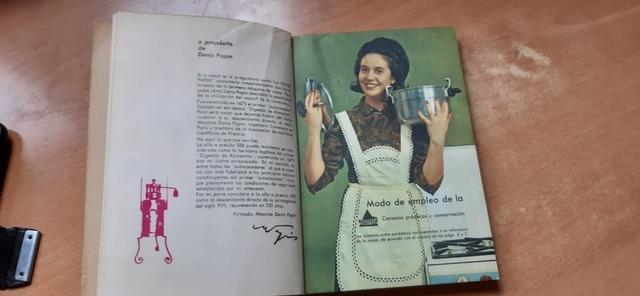 Libro Antiguo De Cocina Magefesa