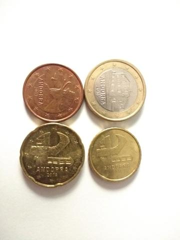 Monedas De Andorra